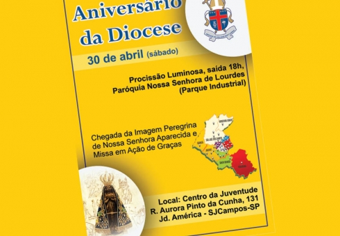 Diocese completa 35 anos